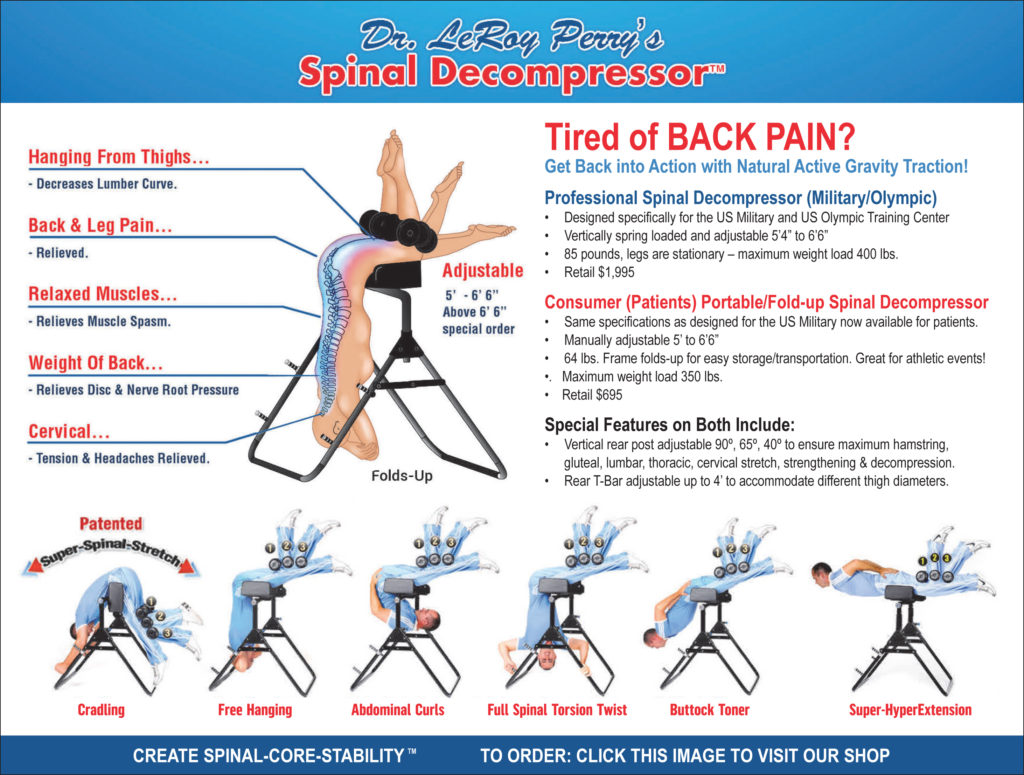 spinal decompressor relieve back pain